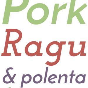 This pork ragu with polenta is a delicious, warming, rib-sticking way to make over leftover pork shoulder or other pork you might have around.   Recipe from Chattavore.com