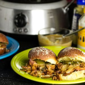 slow cooker beer pulled chicken | chattavore