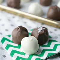 Cookie Truffles – with Girl Scout Cookies