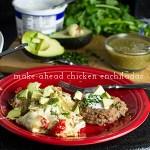 Make-Ahead White Chicken Enchiladas