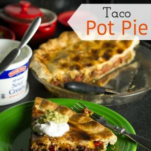#Taco #PotPie from @chattavore is the perfect marriage of an American-style taco and a pot pie! | chattavore.com