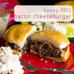 I've eaten quite a few burgers lately in the quest for the #PerfectBurger, and I've learned quite a few things about what makes MY perfect burger...like this honey BBQ #bacon #cheeseburger | chattavore.com