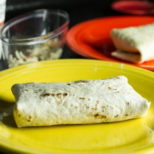 This potato and black bean burrito is a simple and tasty handheld vegetarian lunch or dinner option! Add eggs for a breakfast burrito   chattavore.com