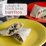 Black Bean Burritos with Potatoes