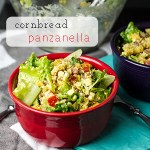 Cornbread Panzanella with Fresh Corn