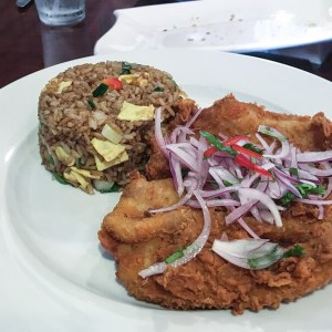 Aji Peruvian restaurant, located in Ooltewah, Tennessee, serves delicious, fresh Peruvian food and beverages with friendly service!   restaurant review from Chattavore.com