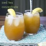 Iced Tea Concentrate Recipe