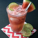 Watermelon Soda with Lime