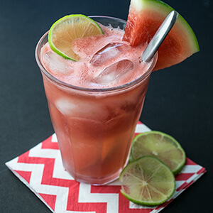 Watermelon is the ultimate summertime refreshment, and this watermelon soda with lime is the ultimate summer drink when the mercury climbs! | recipe from Chattavore.com