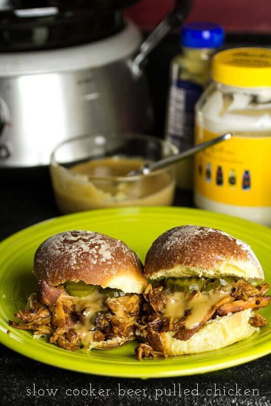 slow-cooker-beer-pulled-chicken