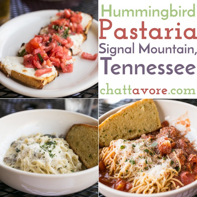 Hummingbird Pastaria, formerly known just as Pastaria, is serving amazing fresh Italian food in a familiar location on Signal Mountain. | restaurant review from Chattavore.com