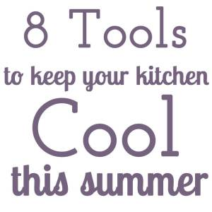 It gets hot in the summer here in Tennessee, and electricity can be pricey. Here's how to keep your kitchen cool during the summer! | Kitchen Tips from Chattavore.com