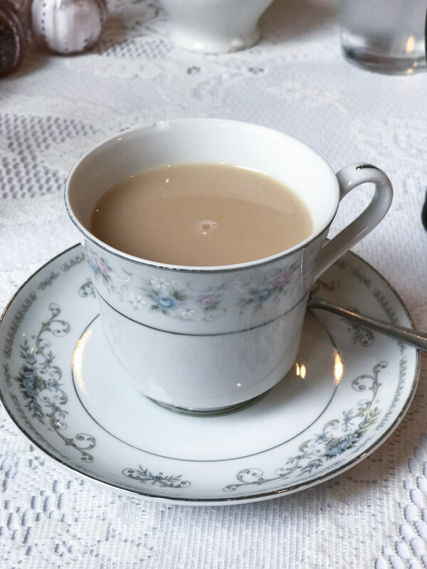 The English Rose Tea Room in downtown Chattanooga is a fun place to go for a tea time experience. They serve other classic British foods as well. | Restaurant Review from Chattavore.com