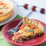 Pimento Cheese Tomato Pie