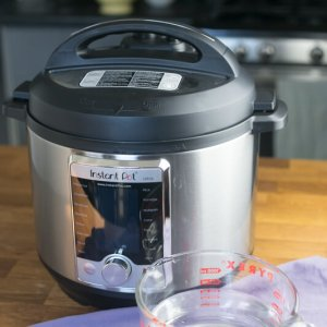 The Instant Pot water test is a quick and easy way to make sure your new Instant Pot works without having to chance ruining food! Instant Pot water test video included. | Tutorial from Chattavore.com