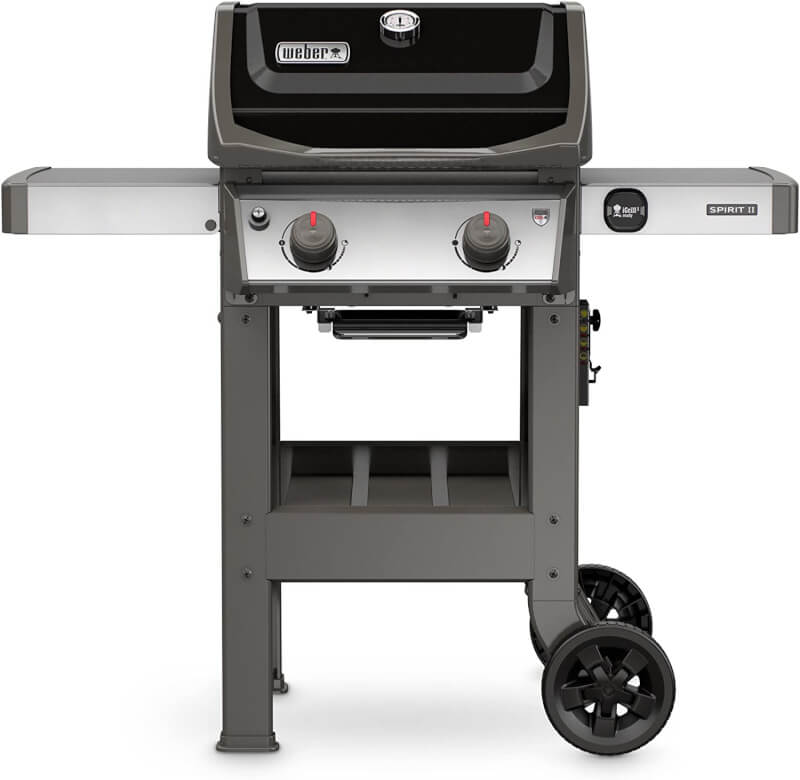 a photograph of a Weber gas grill