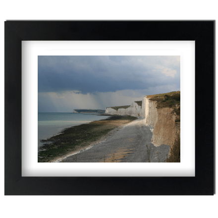 Stormy Birling Gap Colour
