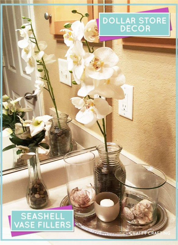 Dollar store vases and #floral arrangement #ideas |