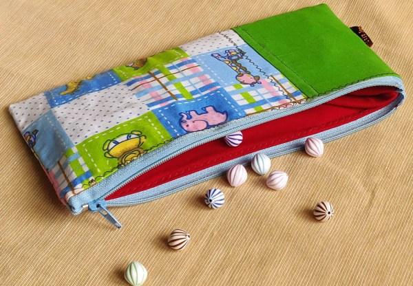 Bi Colour Pouch for Kid 5 https://chaturango.com/bi-colour-multipurpose-pouch-kids-elephant/