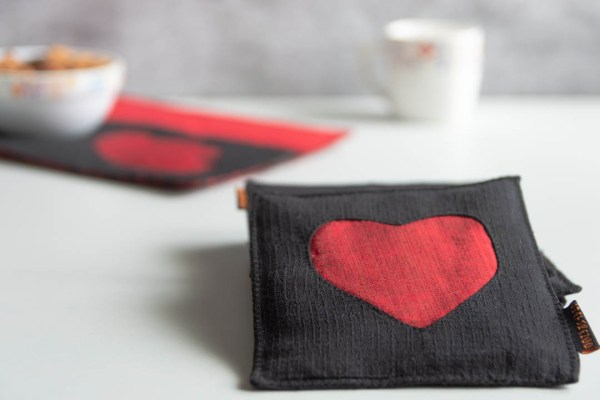 Coaster Red Black Heart 3 https://chaturango.com/heart-theme-coasters-red-and-black/