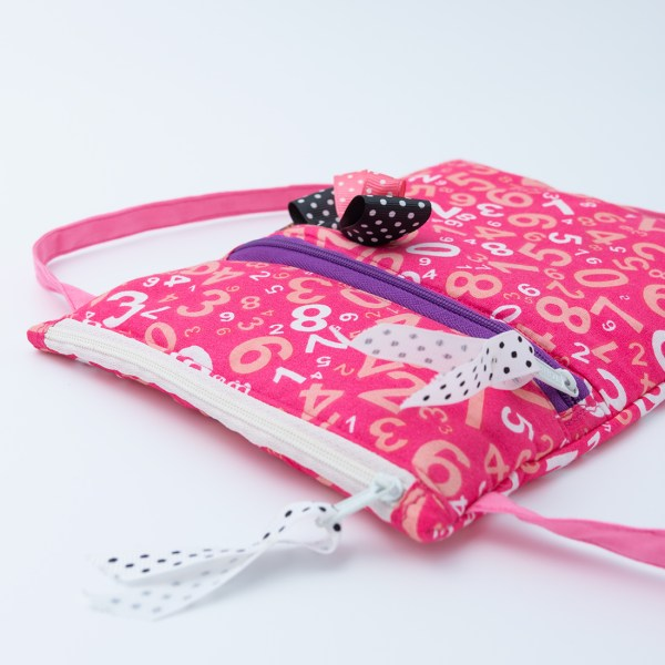 Happy Princess Red Numerals 3 https://chaturango.com/pink-sling-bag-for-girls-printed-numerals/