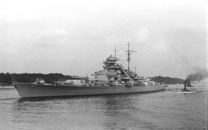 Auf der «Bismarck» tat die Katze Dienst, bevor die Engländer das  deutsche Schlachtschiff am 27. Mai 1941 versenkten