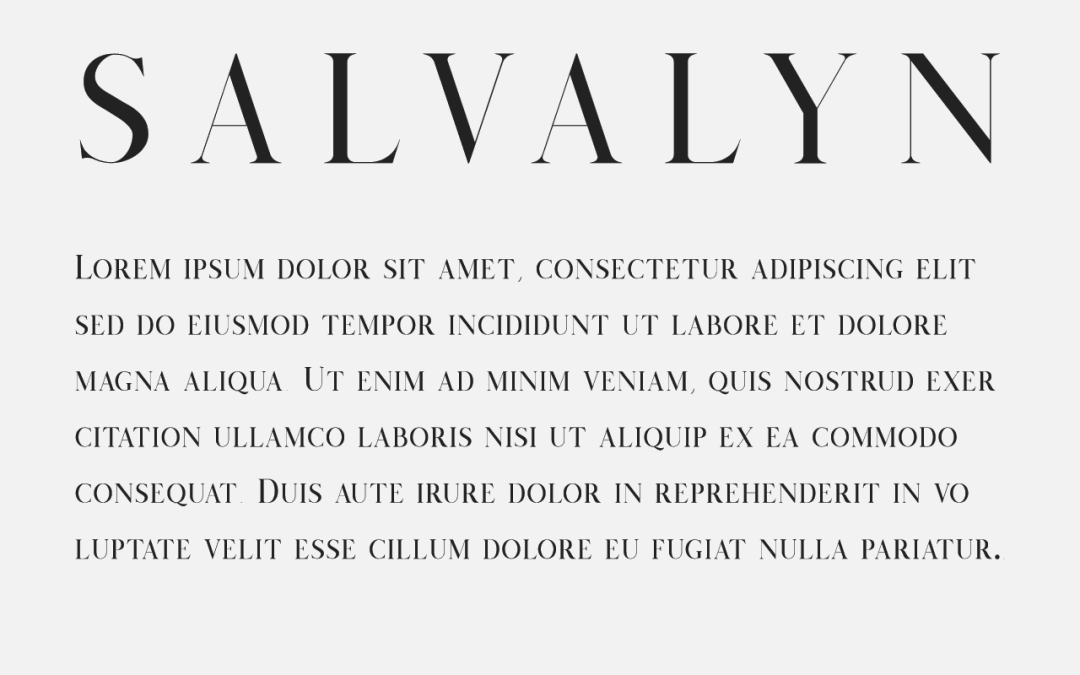 Four Free Fonts