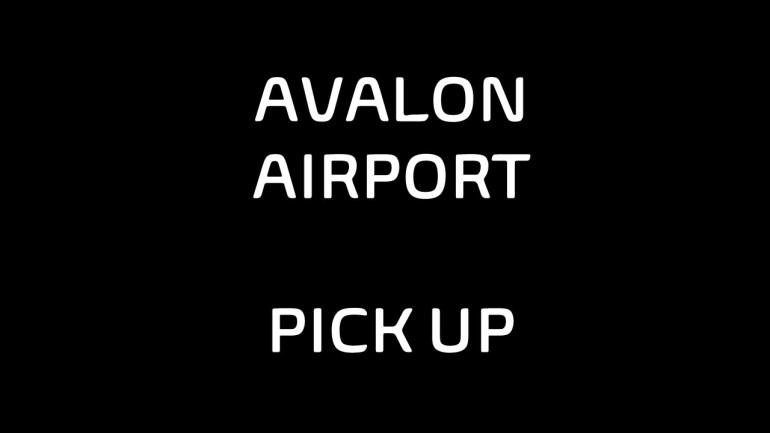 Avalon Airport pickup