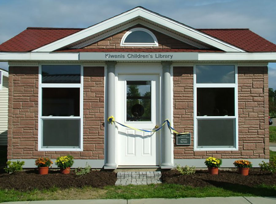 Kiwanis Children's Library at the Children's Safety Village