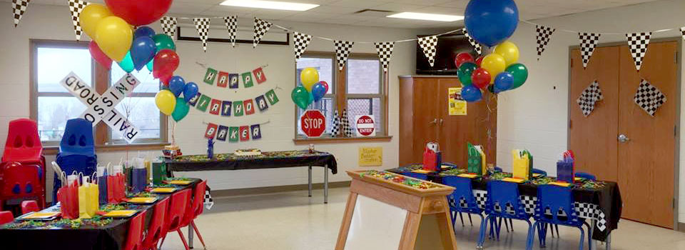 Birthday parties at the Childrens Safety Education Village