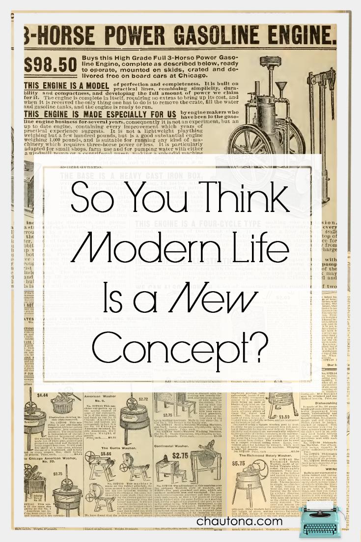 Modernity is Relative