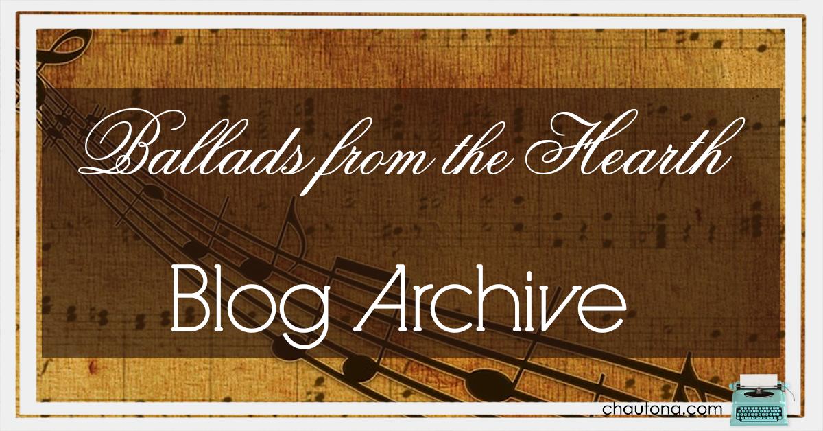ballads blog archive