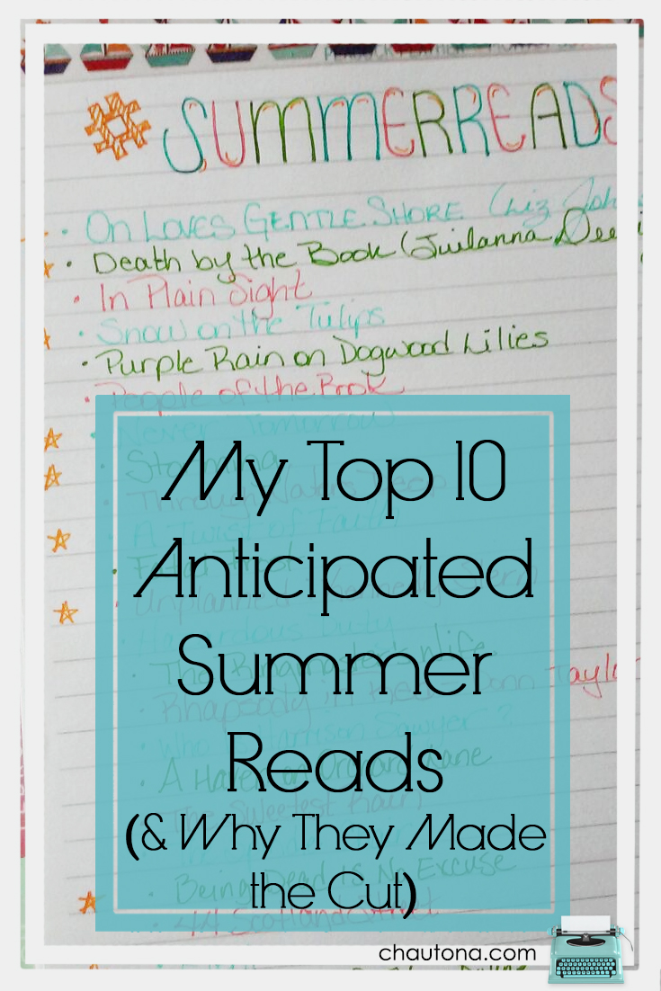 We're well into summer. With the heat beating down on us, relaxing n the shade (or by a nice fan/open freezer door) with a stack of great summer reads--perfect.