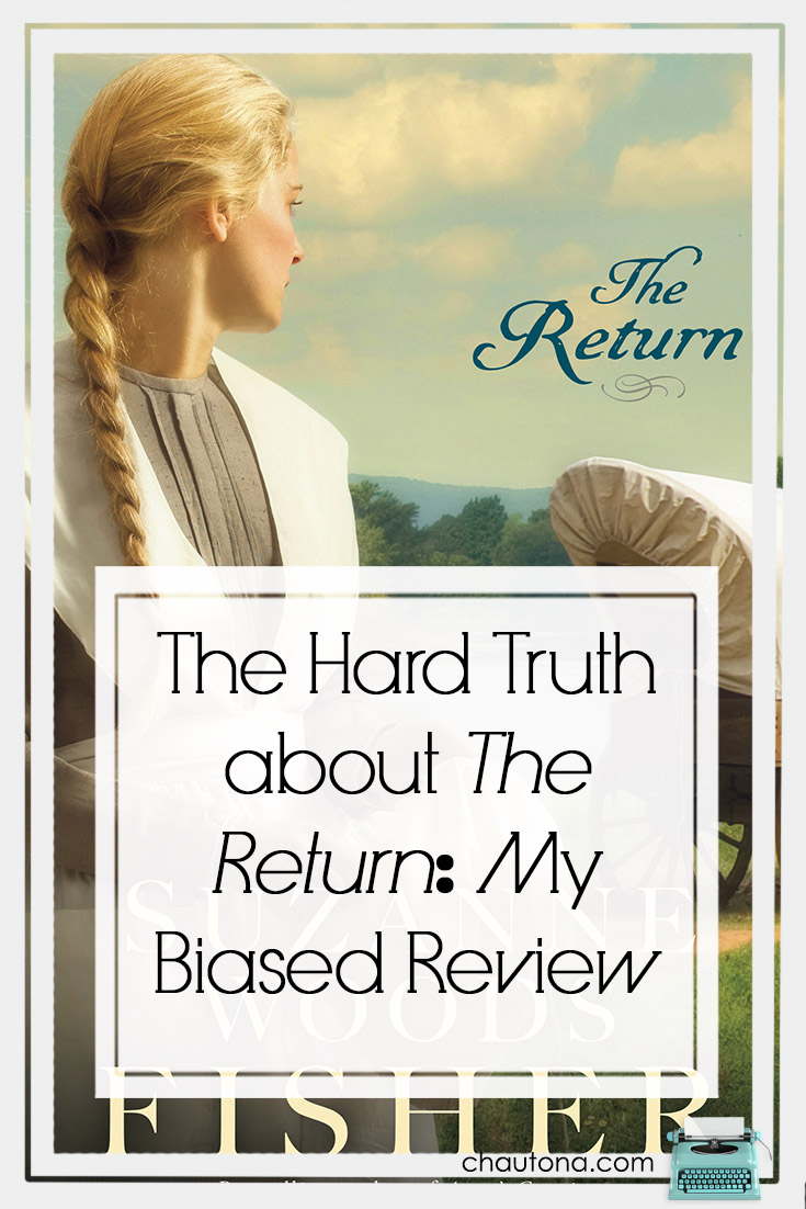 You know how it is.  You promise to review a book--like The Return.  You are excited. But then you get busy. You resent it--dumb book messing up your plans.