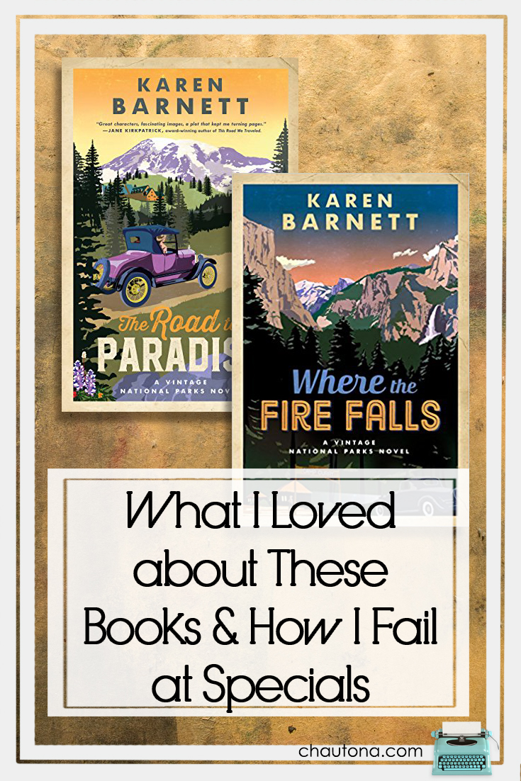 What I Loved about These Books & How I Fail at Specials