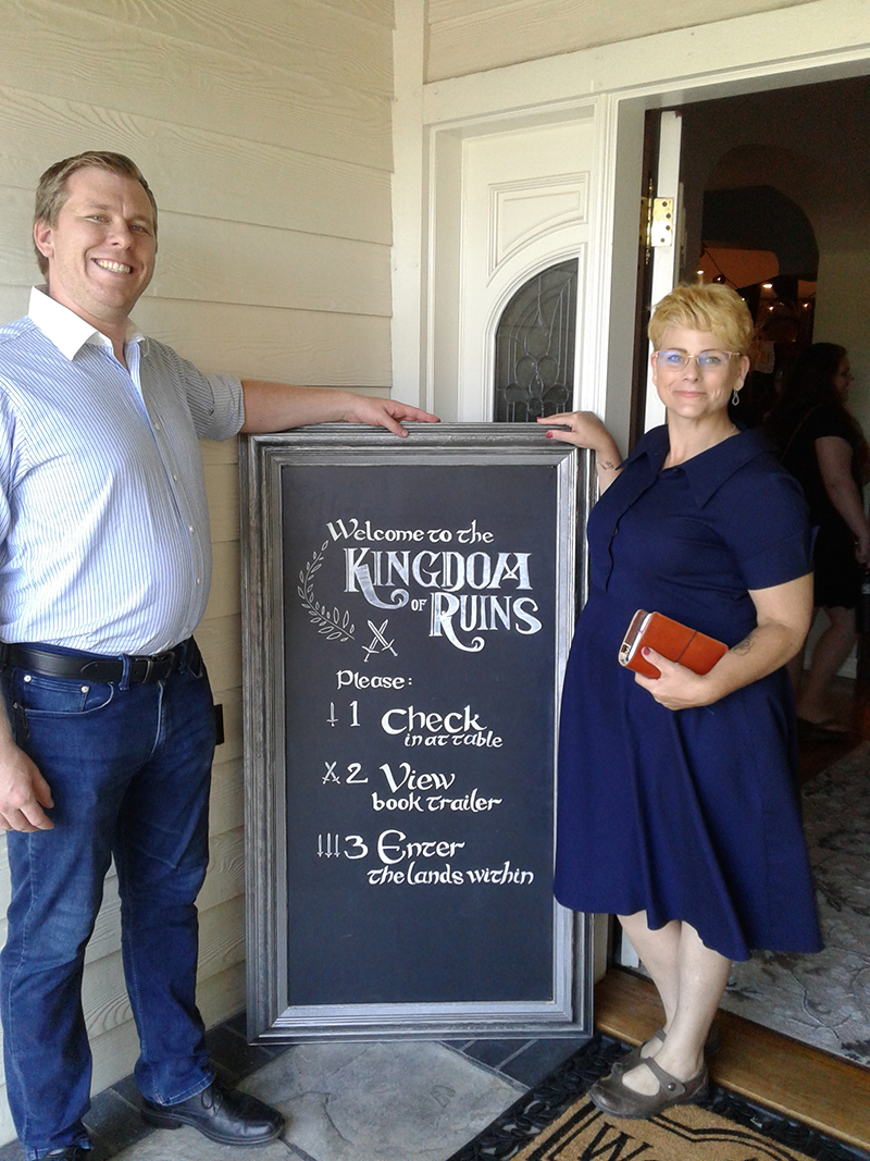 Kingdom of Ruins Launch Party