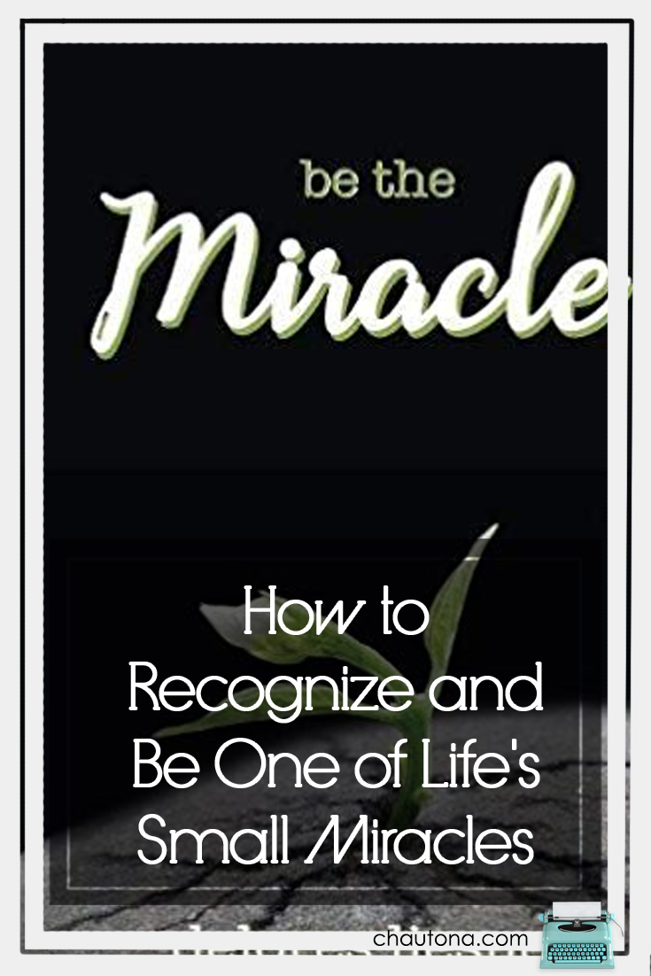 How to Recognize and Be One of Life's Small Miracles