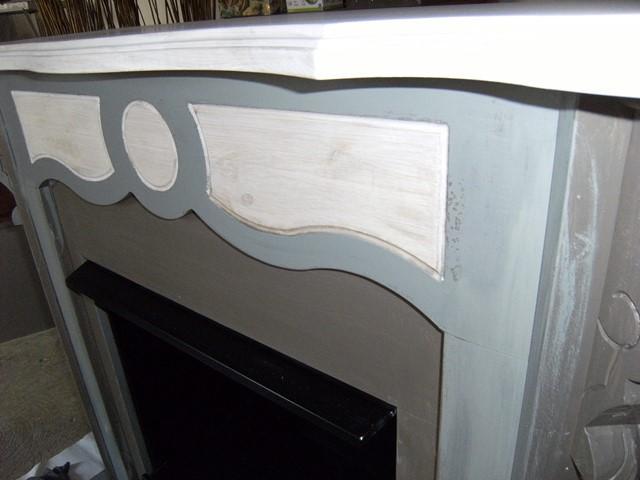 cheminée bois pendant relooking chaux room