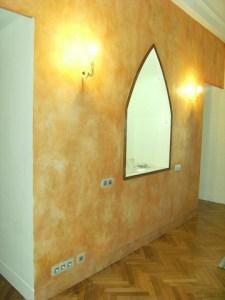 Mur apres badigeons de chaux par chaux room 4
