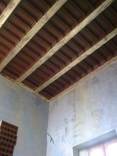 Plafond a caisson impression numérique et dorure