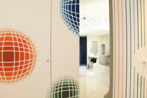 Inspiration Vasarely chaux room