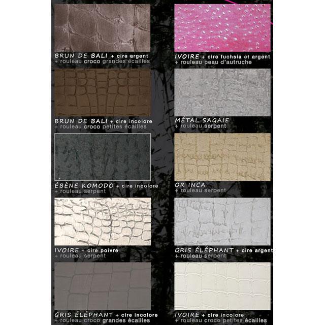 Nuancier animal skin