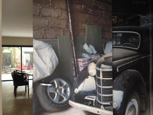 Impression numérique sur portes chaux room