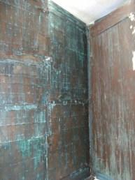 Patine du bois avec oxyde de fer et liant par chaux room