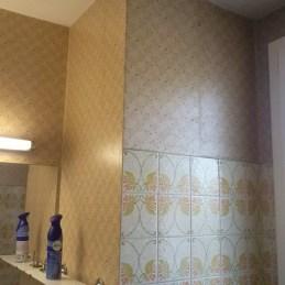 Projet de relooking salle de bain avant chaux room 27