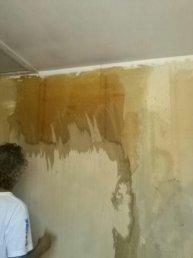 Détapissage des murs