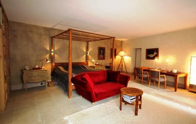 Mur tête de lit décoré à la chaux par Chaux Room
