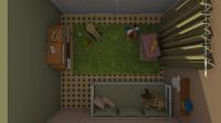 Aménagement chambre enfant visuel 3D Chaux Room