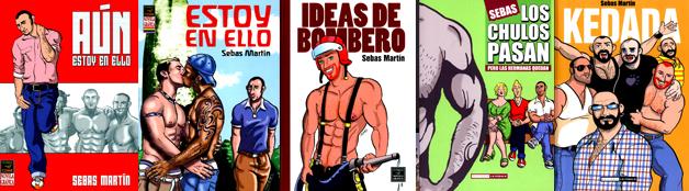 Comics Gay de Sebas Martín | COLECCIÓN [Cómics] (PDF/CBZ)