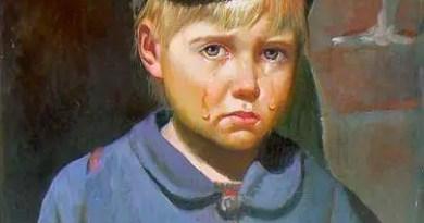 o Menino Chorando